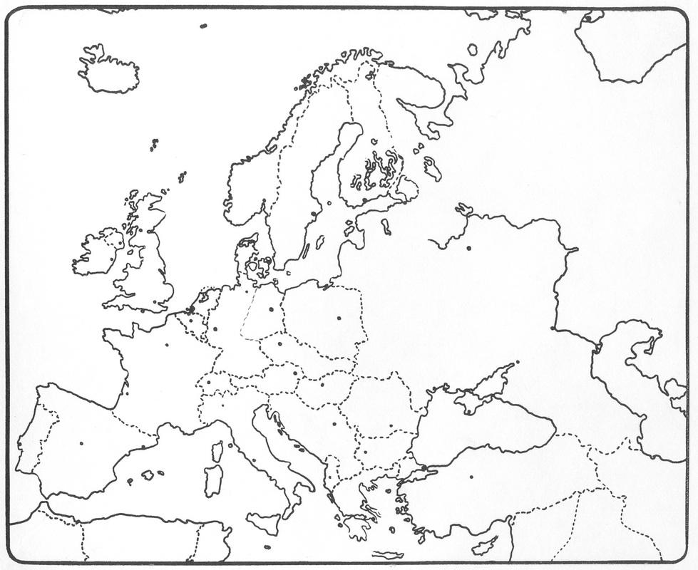 europa kaartvaardigheid